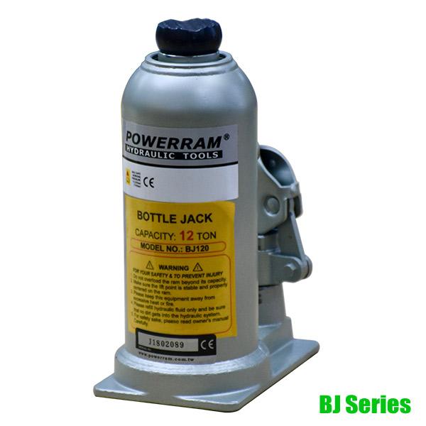 BJ Series Con đội thủy lực 12-50 tấn, tích hợp sẵn bơm dầu, Powerram