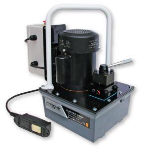 EP18S bơm thủy lực chạy điện dung tích 8 lít, 1 chiều, điều khiển remote
