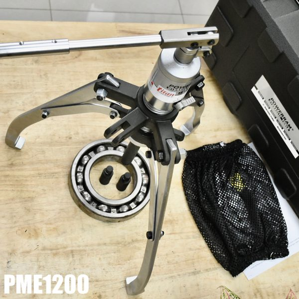 PME1200 vam thủy lực tự định tâm tải trọng 12 tấn của Powerram