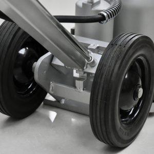bánh xe cao su cứng