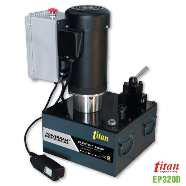 EP320D bơm thủy lực chạy điện Powerram