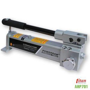 AHP701 bơm tay thủy lực dung tích 500ml áp suất 700 bar.