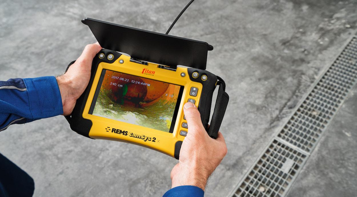Camera nội soi công nghiệp có cáp 30m. REMS Germany
