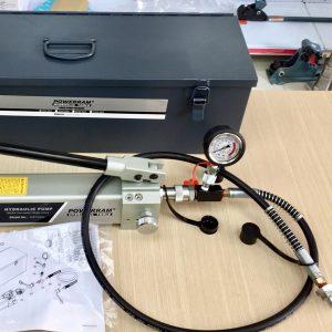 AHP703BG bộ bơm thủy lực dung tích 2 lít, áp suất 700 bar, Powerram.