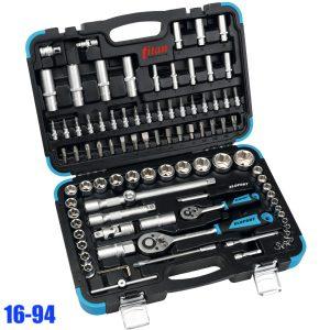 16-94 bộ khẩu đa năng 94 chi tiết từ 10mm đến 32mm, các loại đầu vít