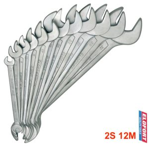 2S 12M bộ cờ lê 2 đầu miệng 12 cây từ 6 đến 32mm chuẩn DIN 3110