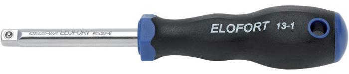13-1 tay vặn đầu vuông 1/4 inch dài 150mm Elofort