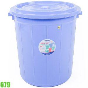 679 Thùng nhựa tròn 90L Duy Tân