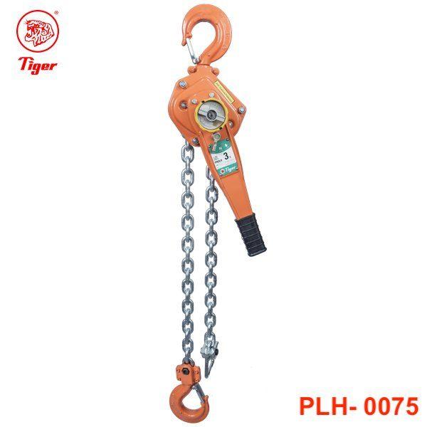 PLH-0075 pa lăng xích lắc tay 0.8 tấn, loại professional, chiều cao nâng 1.5m