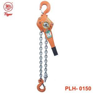PLH-0150 pa lăng xích lắc tay 1.5 tấn, loại professional, chiều cao nâng 1.5m.