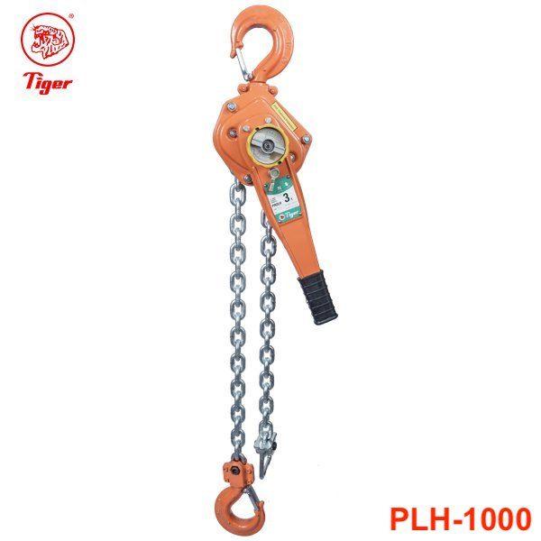 PLH-1000 pa lăng xích lắc tay 10 tấn, loại professional, chiều cao nâng 1.5m