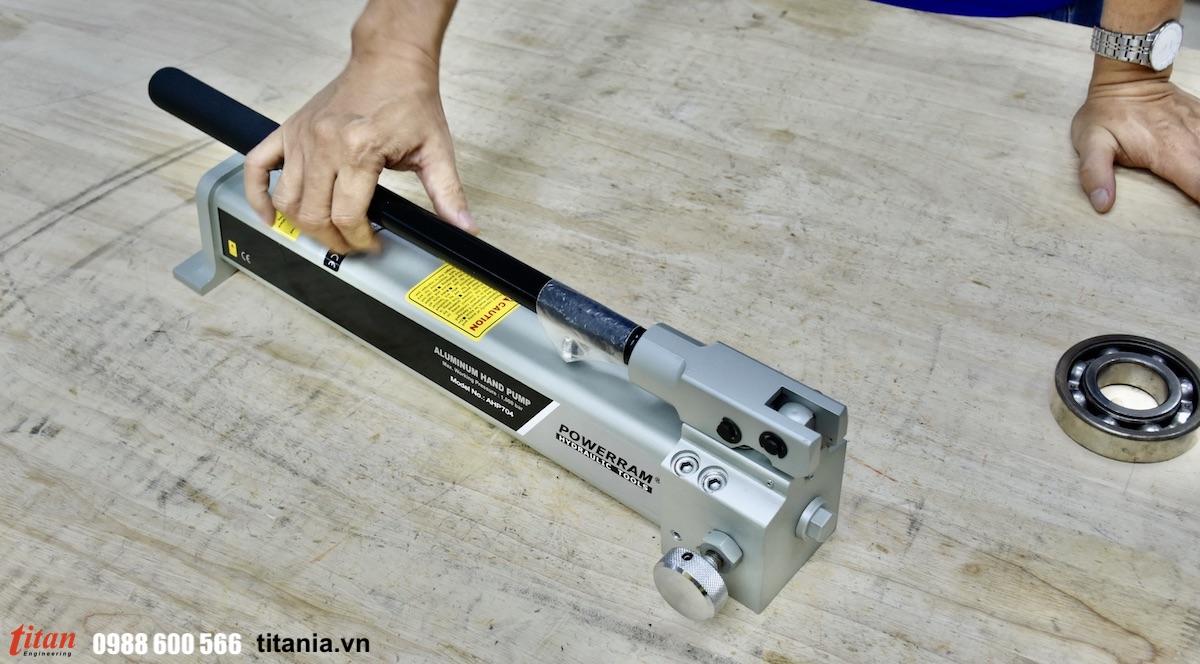 AHP704 bơm thủy lực cao áp 1000 bar