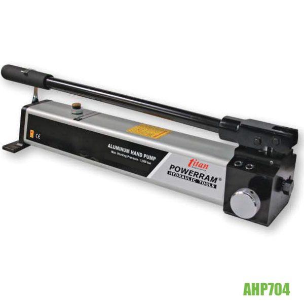 AHP704 bơm thủy lực 1000 bar, siêu cao áp, dung tích 1 lít.