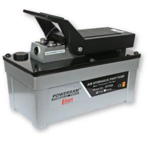 AP1600S bơm thủy lực dẫn động bằng khí nén 1.6l, đơn trình Powerram