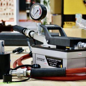 Bộ hoàn chỉnh cả kích 1 chiều NSCS201 và bơm dẫn động bằng khí nén