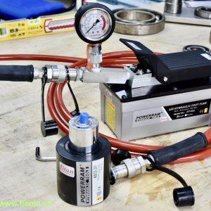 Đồng hồ áp suất có thể dùng hoặc không tùy theo ứng dụng của AP1600S