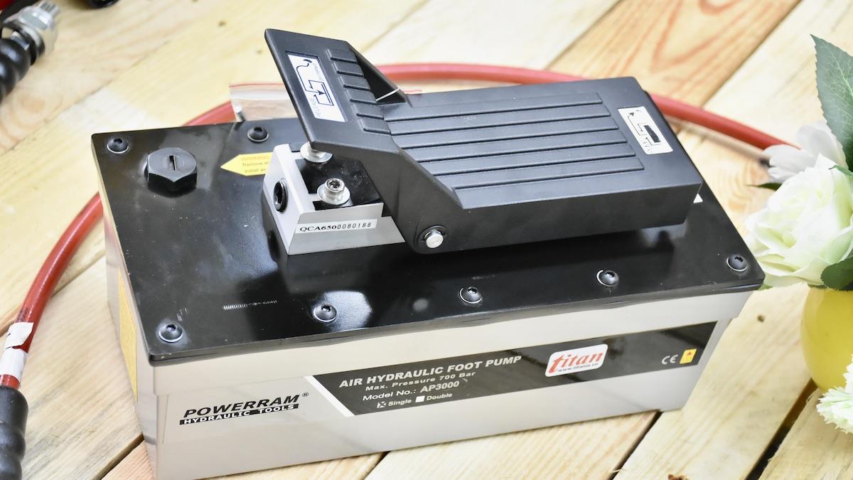 Bơm khí nén cho dầu thủy lực AP3000S