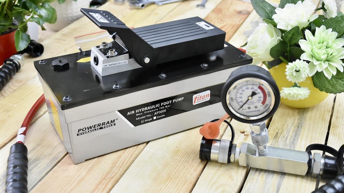 Bơm dầu thủy lực bằng khí nén AP3000S