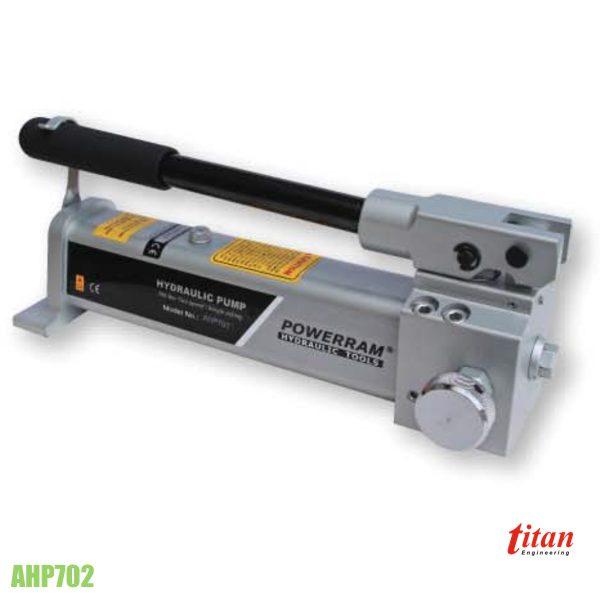 AHP702 bơm tay thủy lực dung tích 1000ml áp suất 700 bar
