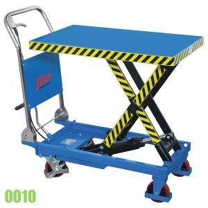 0010 bàn nâng 500kg bằng thủy lực, di dộng như xe nâng hàng đẩy tay
