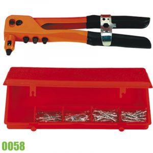 0059 bộ kìm bấm rivet và đinh tán nhôm 2,4mm đến 4,0mm