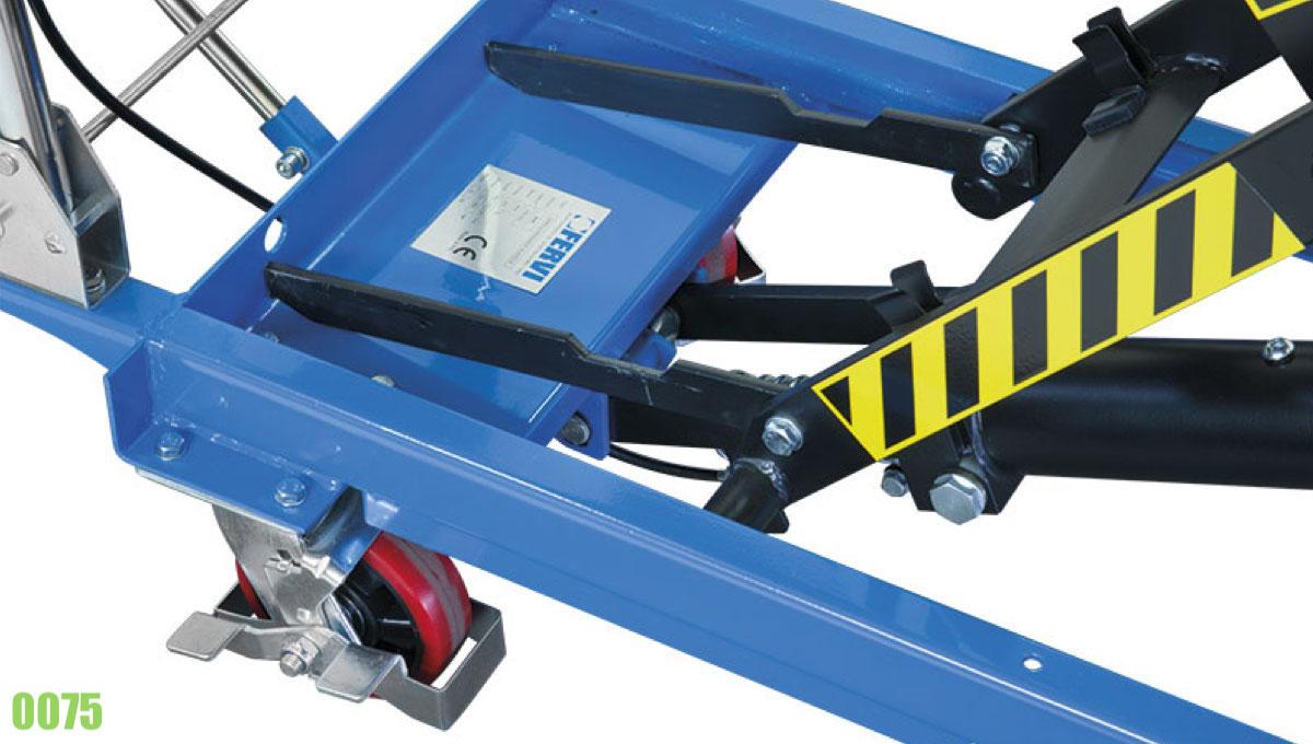 Cơ cấu nâng hình bình hành cho xe đẩy tay thủy lực