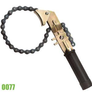 0077 cờ lê xích chuyên dụng mở lọc nhớt - Oil Filter chain wrench
