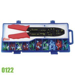 0122 bộ kìm bấm cos cán cách điện và các loại đầu cốt