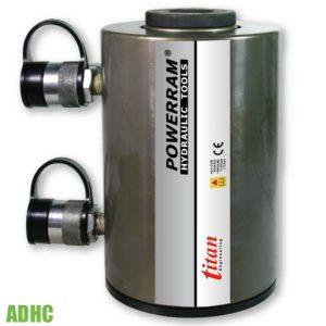 ADHC xylanh thủy lực 2 chiều, có lỗ thông tâm, tải trọng từ 30 đến 60 tấn