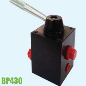 BP430 Van tay gạt đóng mở 2 phía, áp suất 700 bar. Powerram Taiwan.