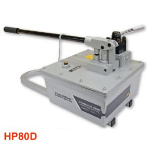 HP80D Bơm thỷ lực 2 chiều, dung tích dầu 8 lít - Powerram Taiwan