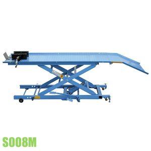S008M bàn nâng xe máy bằng thủy lực tải trọng 400kg, size 1825x660mm