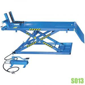 S013 bàn nâng thủy lực 600kg chuyên dụng sửa chữa xe gắn máy.