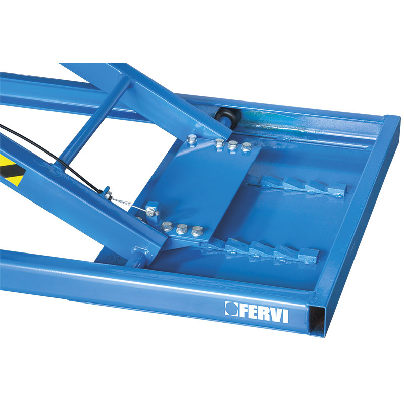Bước chuyển độ cao nâng của bàn thủy lực sửa xe