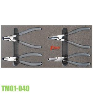 TM01-040 bộ kìm phe trong ngoài dùng cho tủ đồ nghề FERVI.