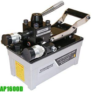AP1600D bơm thủy lực bằng khí nén 2 chiều, dung tích dầu 1,6 lít.