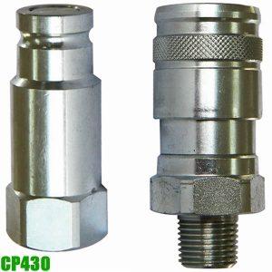 CP430 co nối chân đồng hồ áp suất dầu thủy lực Powerram Taiwan.