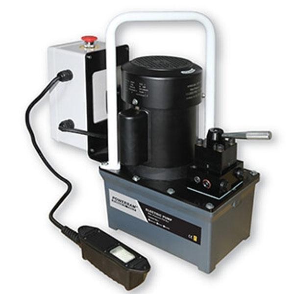 EP13 bơm thủy lực dẫn động bằng điện 220V, áp suất 700bar, 3 lít