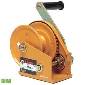 BHW tời tay kéo cáp Manual Winch tải trọng từ 360kg đến 1180kg
