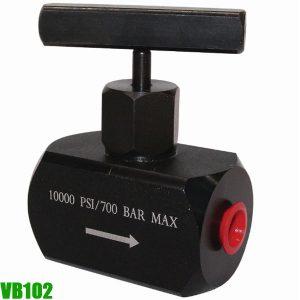 VB102 Van thủy lực, áp suất làm việc max 700 bar. Powerram Taiwan.