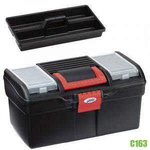 C163 thùng đồ nghề bằng nhựa 194x160x195mm, có quai xách