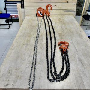 chiều dài thực tế tính từ thân pa lăng đến đầu móc tải