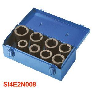 SI4E2N008 Bộ socket 8 món 26 đến 38mm Fervi Italia