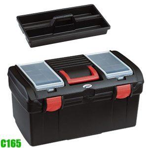 C165 thùng đồ nghề bằng nhựa 514 x 225 x 260mm, có quai xách