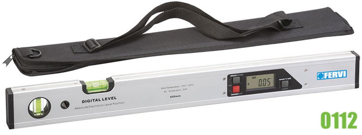 Thước thủy điện tử 600mm FERVI 0112