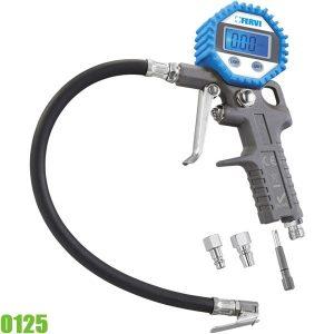 0125 Bơm hơi có đồng hồ điện tử đo áp suất 8 bar. FERVI Italia