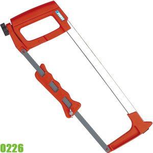 0226 Cưa cầm tay, dài 310mm, cán cầm bọc nhựa