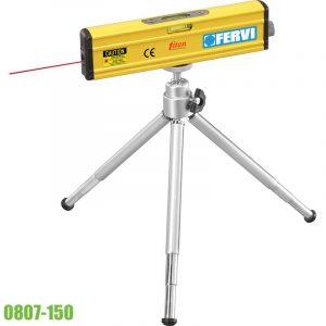 0807-150 thước thủy có tia laser dài 150mm, 1 bọt thủy, khung nhôm