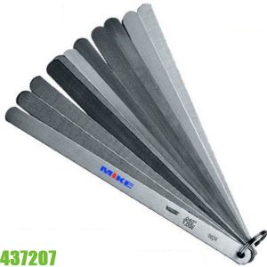 437207 Thước căn lá cho piston, 20 lá size từ 0.05-1.00mm, dài 200mm