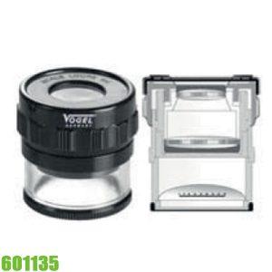 601135 Kính lúp kỹ thuật có đèn LED, hệ số khuếch đại 10x.